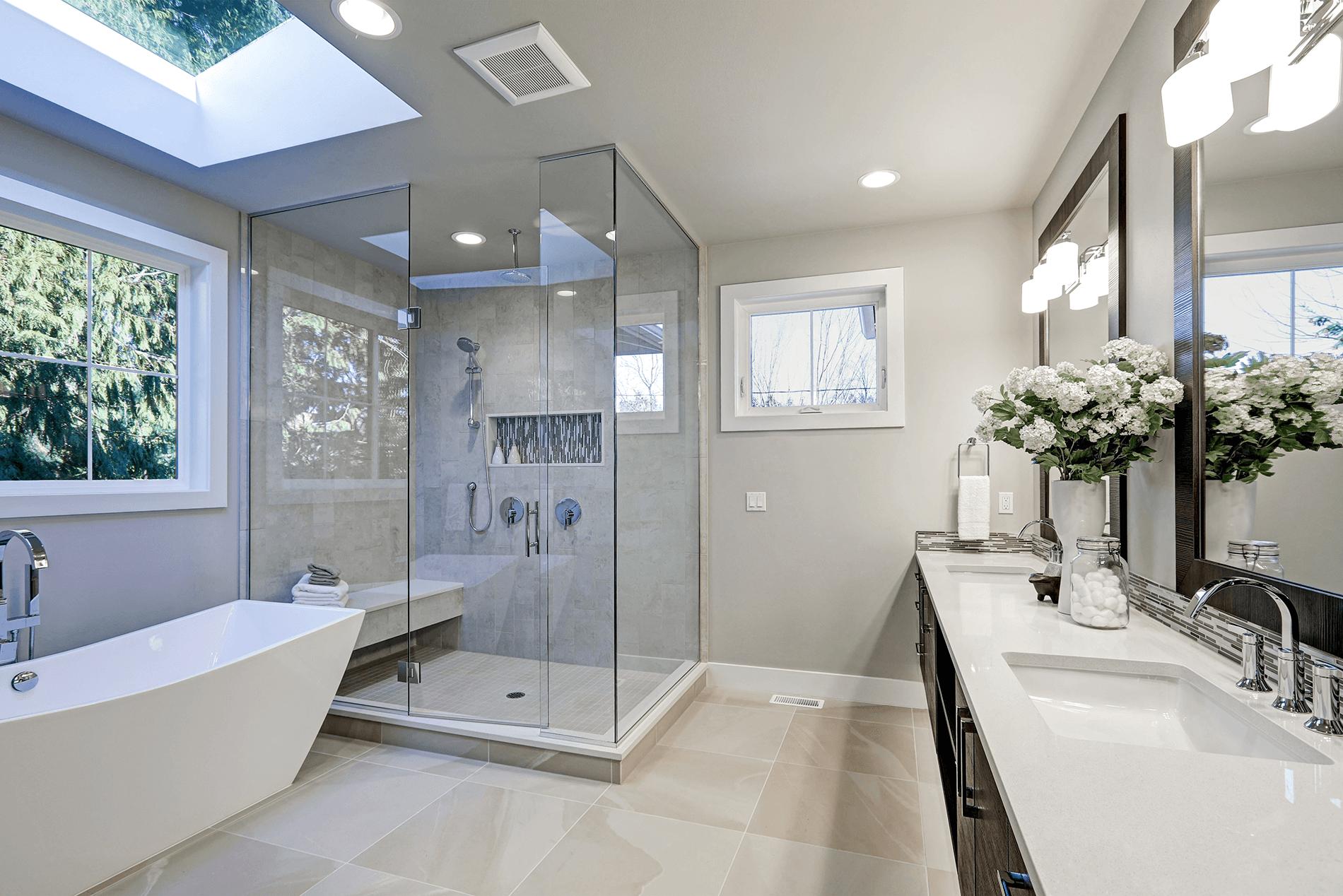 Mackay minimalist bathroom design
