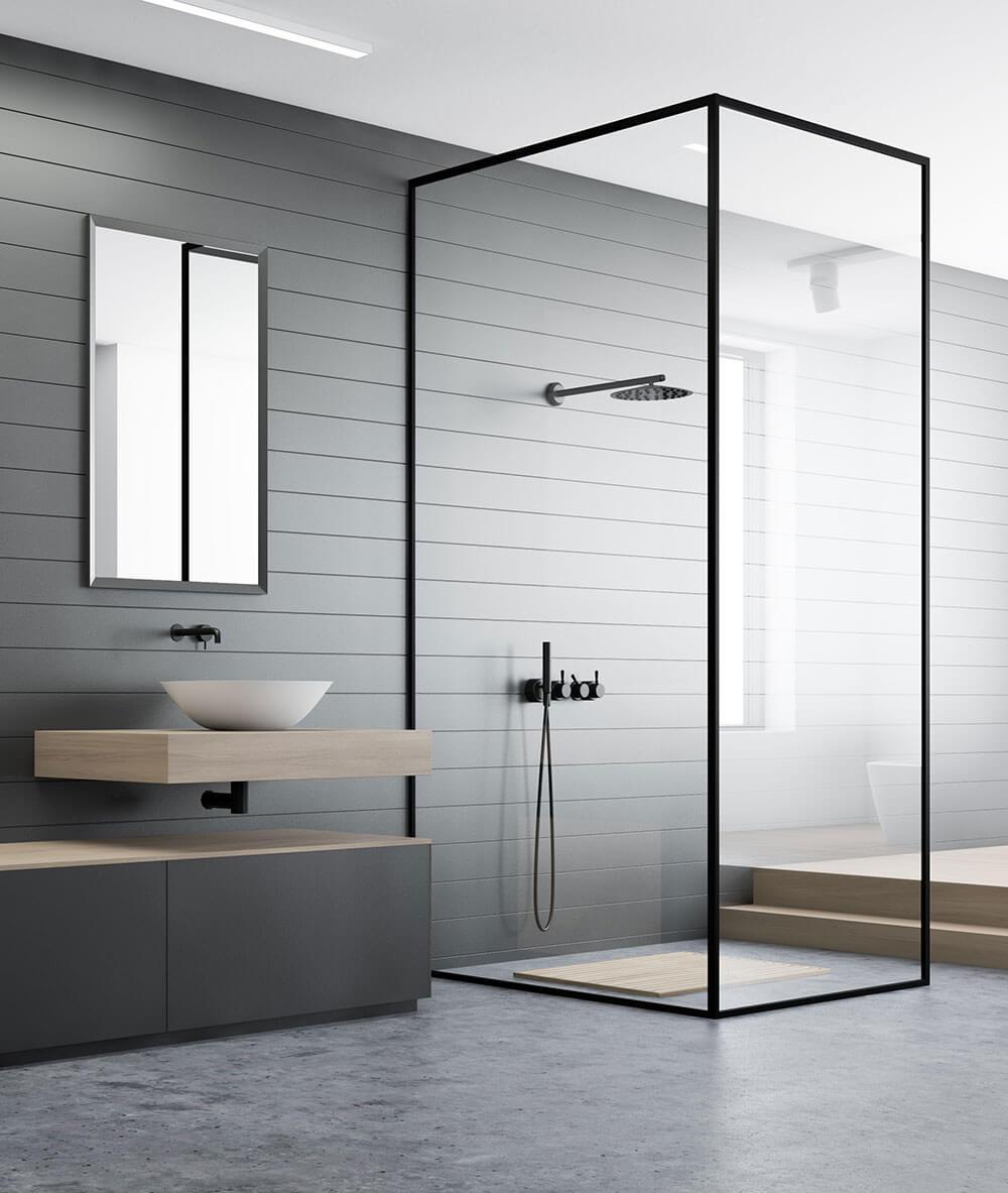 Mackay modern design bathroom renovation